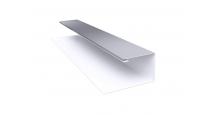 Металлические доборные элементы для фасада в Рязани Планка П-образная/завершающая сложная 20х30