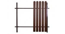 Модульные ограждения из профнастила в цвете ral 8017/1013 Grand Line в Рязани Подсистема Colority Zinc